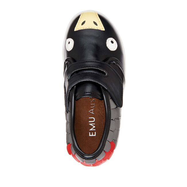 Cockatoo Sneaker, BLACK, hi-res
