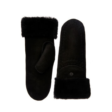 Otways Mittens, BLACK, hi-res
