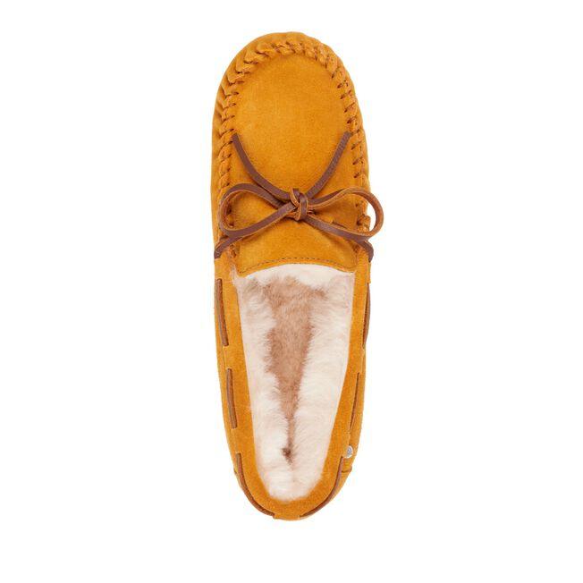 Amity莫卡辛鞋, MUSTARD, hi-res