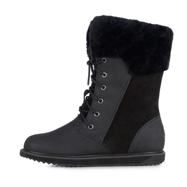 Shoreline Leather, BLACK, hi-res