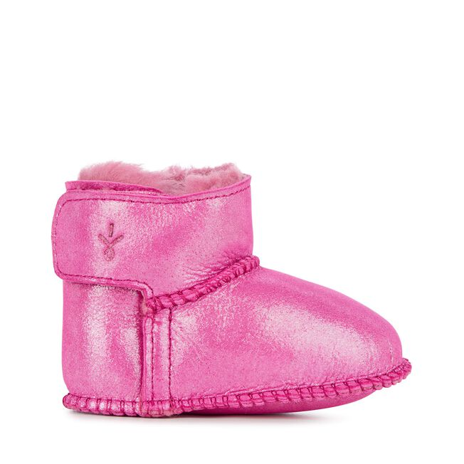 Baby Bootie Metallic, HOT PINK, hi-res
