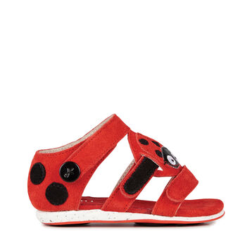 Ladybird Sandal, RED, hi-res
