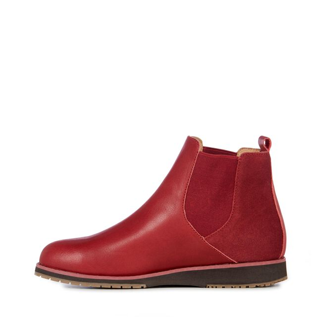 Taria Leather, BURNT RED, hi-res