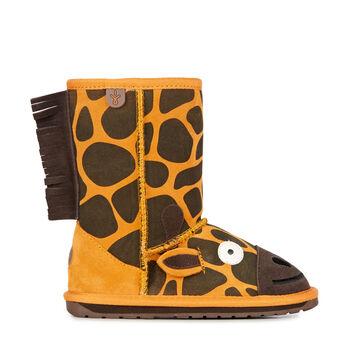 Giraffe童靴雪地靴, GOLD, hi-res