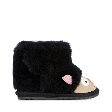 小羊学步靴, BLACK, hi-res