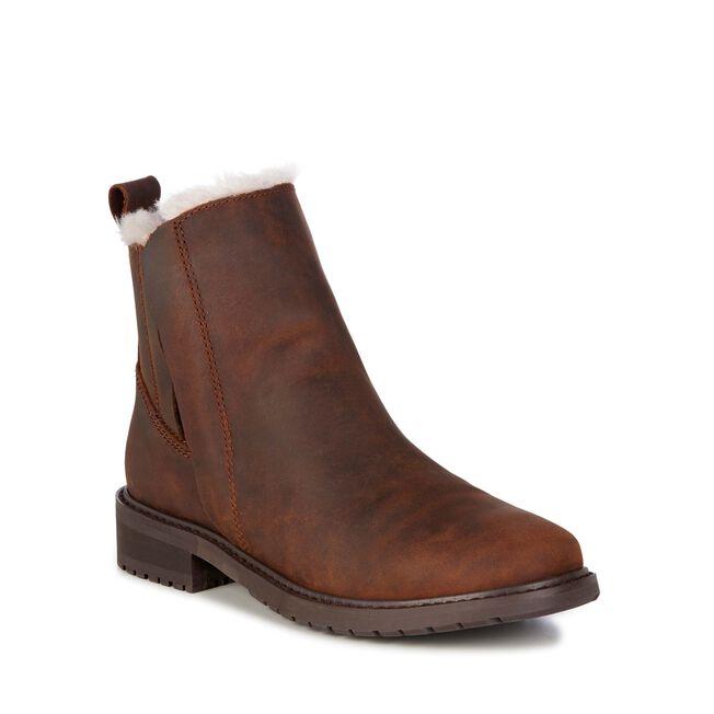 Pioneer Leather Womens Deluxe Wool Boot Emu Australia