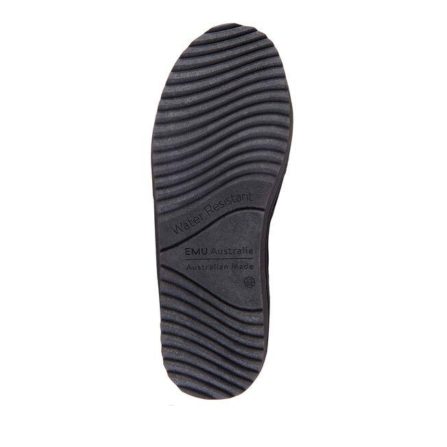 Platinum Outback中筒羊毛雪地靴, BLACK, hi-res