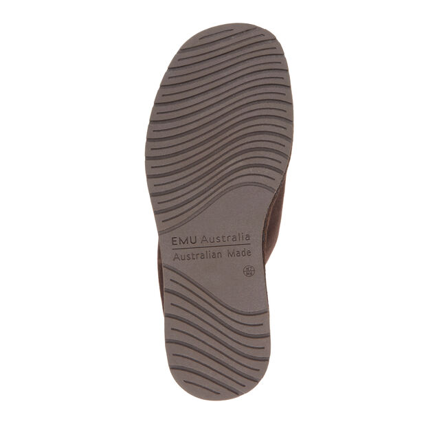 Platinum Darwin短筒羊毛雪地靴, CHOCOLATE, hi-res