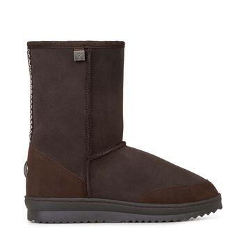 Platinum Outback Lo 中筒羊毛雪地靴, CHOCOLATE, hi-res