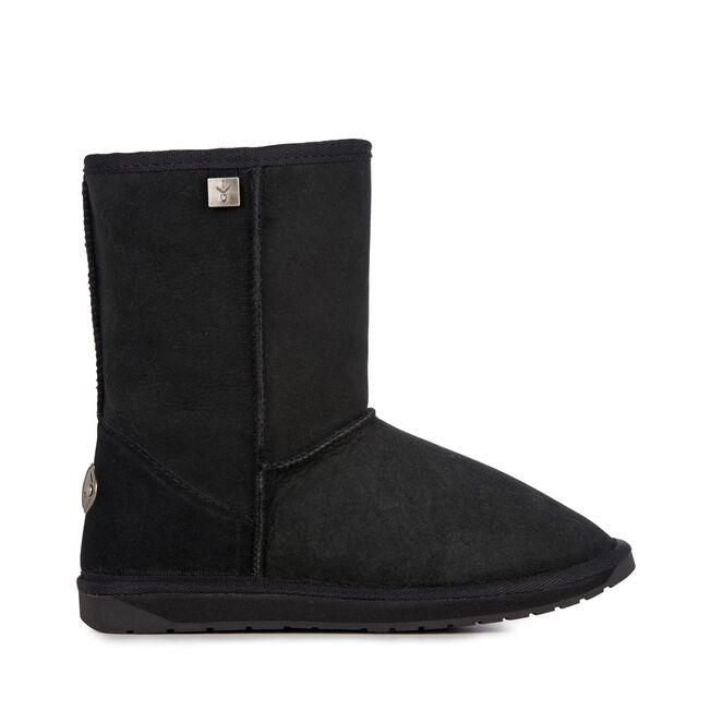 Platinum Stinger Lo 中筒羊毛雪地靴, BLACK, hi-res