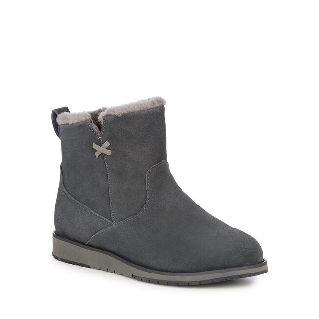 Beach迷你短筒靴, DARK GREY/BLACK, hi-res