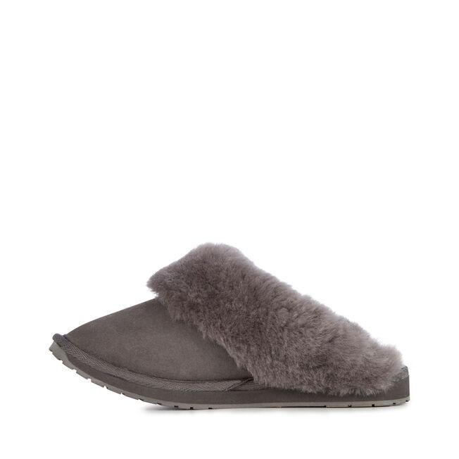 Eden 羊毛拖鞋, CHARCOAL, hi-res