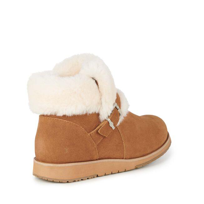 6980ff33e30 Oxley Fur Cuff Womens Deluxe Wool Boot- EMU Australia