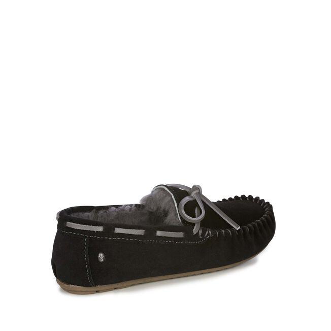 Amity莫卡辛鞋, BLACK/CHARCOAL, hi-res