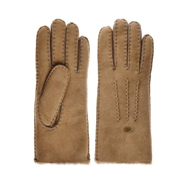 Beech Forest羊皮手套, MUSHROOM, hi-res
