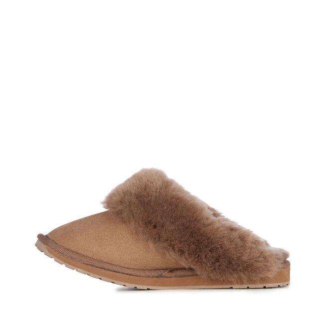 Eden 羊毛拖鞋, MUSHROOM, hi-res
