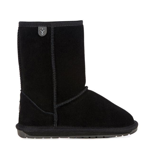 Wallaby中筒靴, BLACK, hi-res