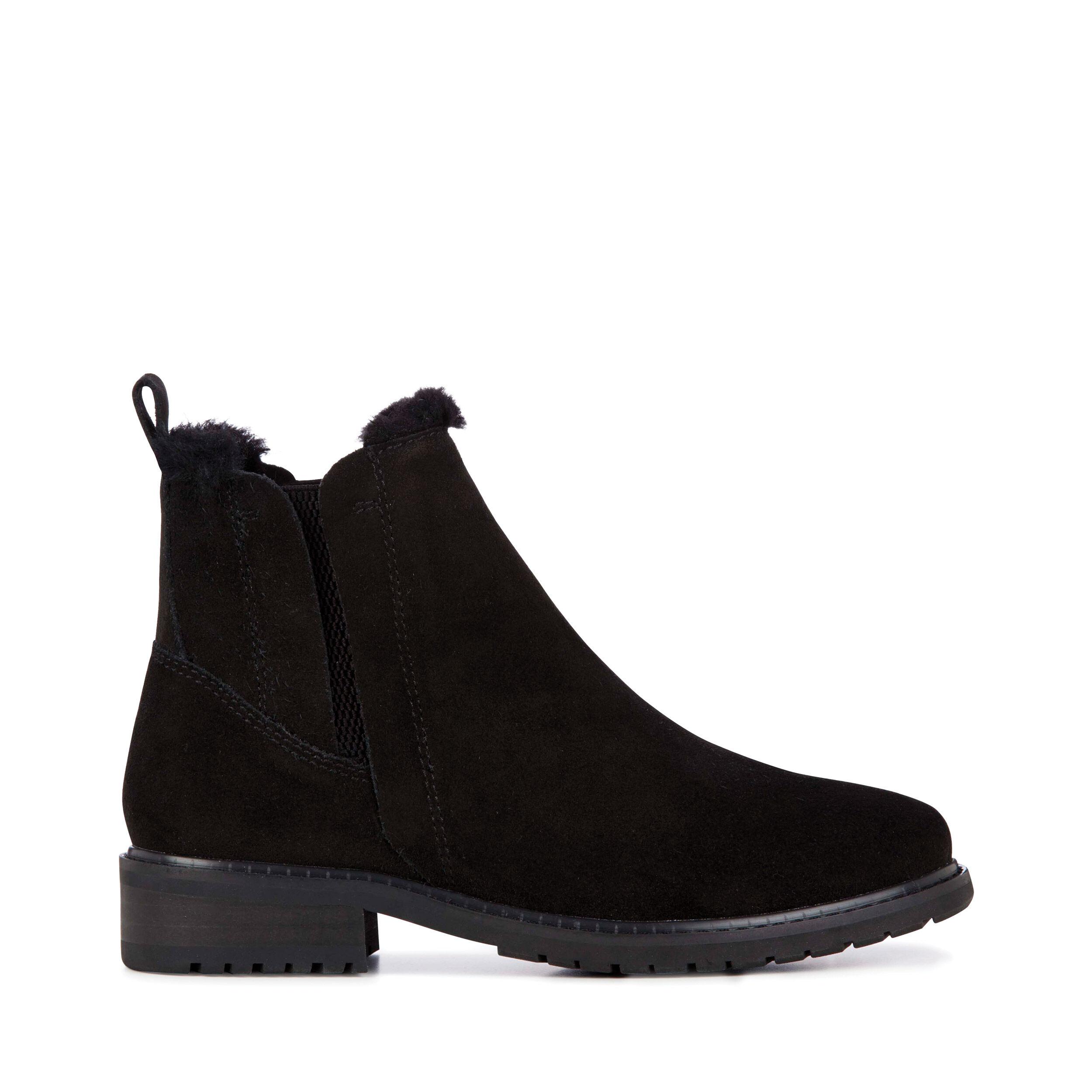 Dr. Martens – Boots '1460 W' in Lackoptik – Schwarz