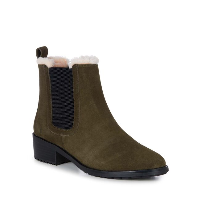 Ellin Suede, DARK OLIVE, hi-res