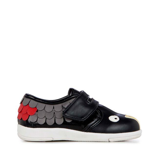 Cockatoo Sneaker, BLACK, hi-res