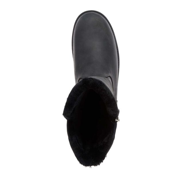 Gravelly Leather, BLACK, hi-res