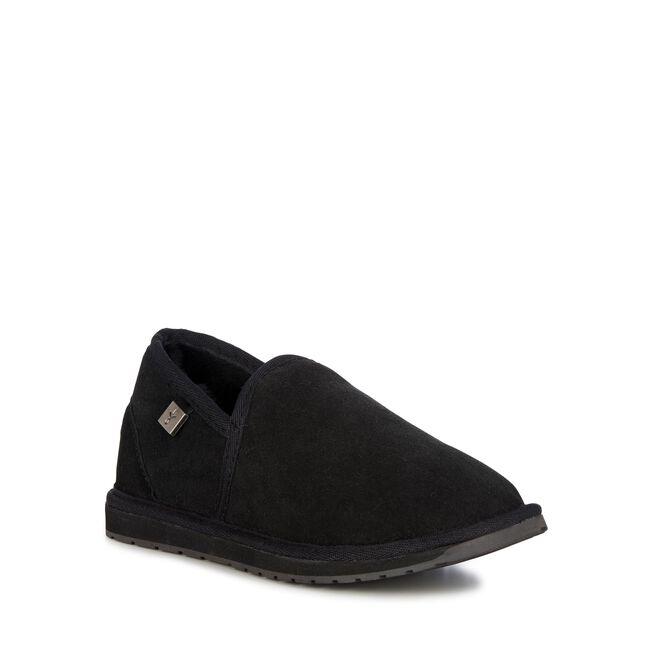 Platinum Ashford羊毛便鞋, BLACK, hi-res
