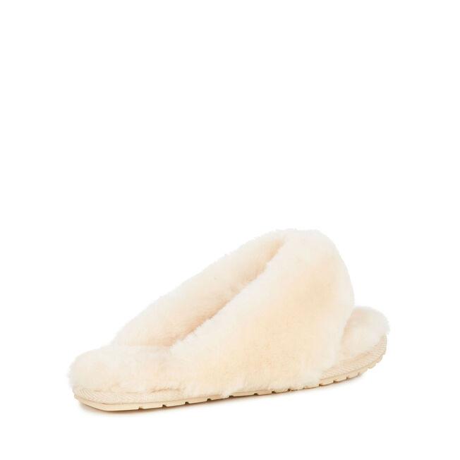 Tova長絨拖鞋, NATURAL, hi-res