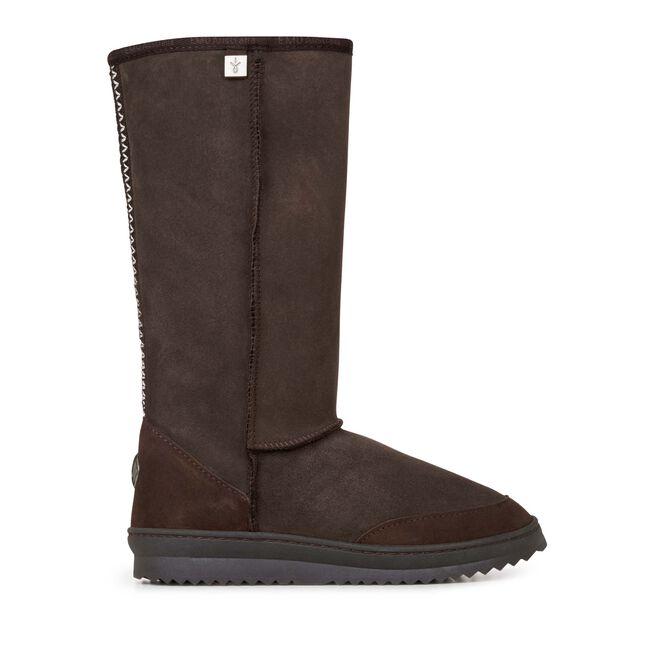 Platinum Outback Hi 高筒羊毛雪地靴, CHOCOLATE, hi-res