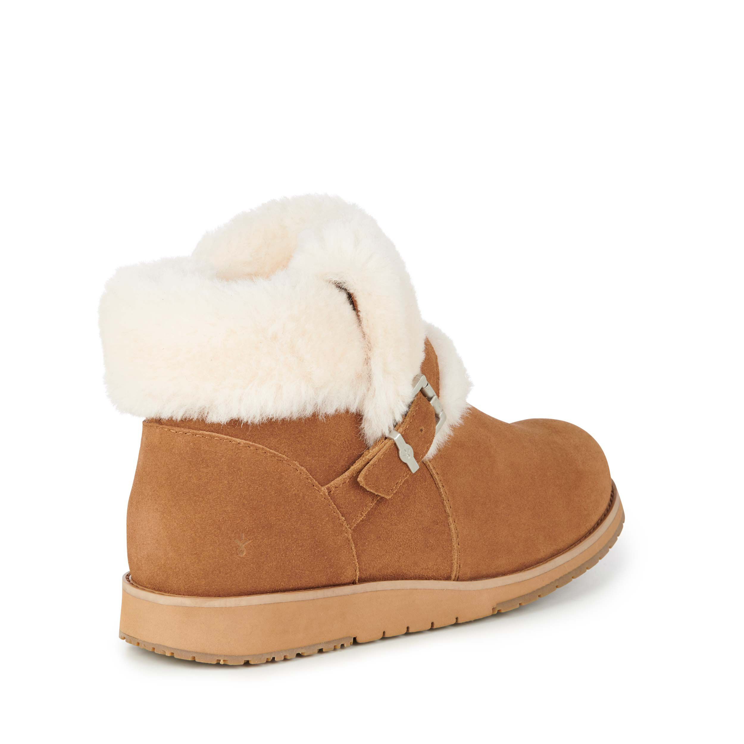 Oxley Fur Cuff Womens Deluxe Wool Boot