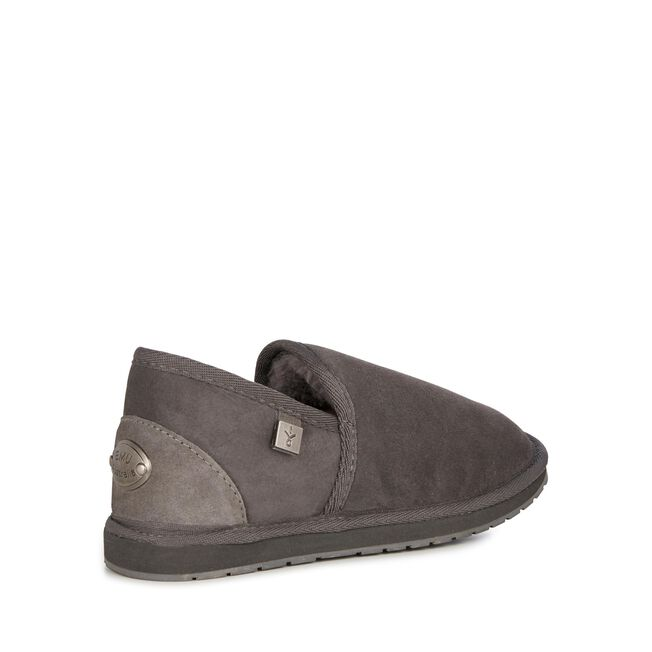Platinum Ashford羊毛便鞋, CHARCOAL, hi-res