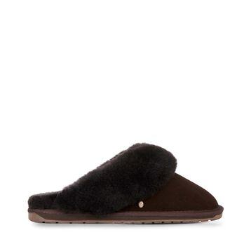 Jolie羊毛拖鞋, ESPRESSO, hi-res