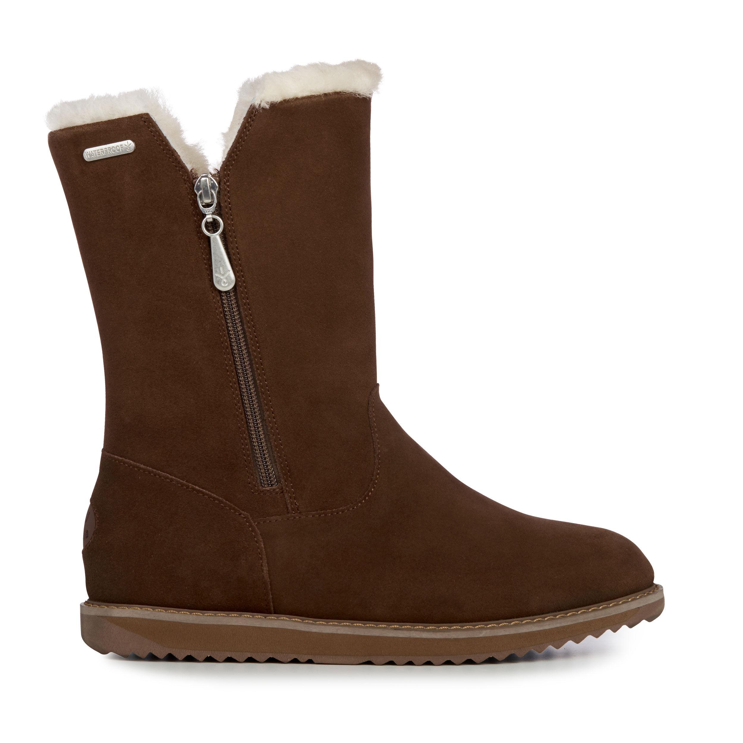 Mid Calf Aussie Merino Tall Kids Shearling Boots
