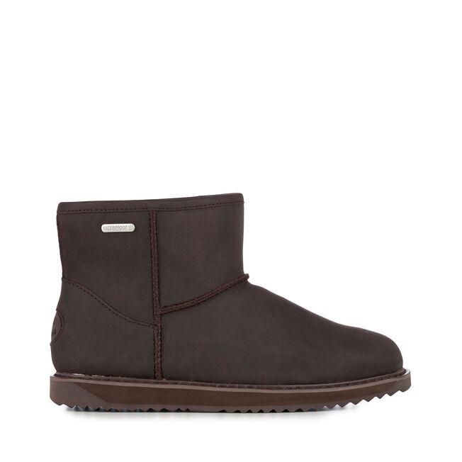 47173c4188 Paterson Leather Mini Womens Liner Skin Boot- EMU Australia