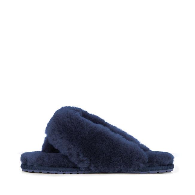 Tova長絨拖鞋, MIDNIGHT, hi-res