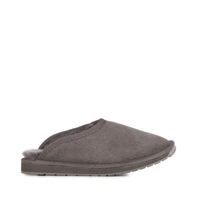 Platinum Esperence羊毛拖鞋, CHARCOAL, hi-res