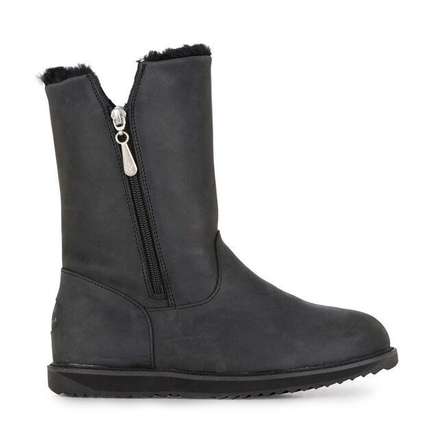 Gravelly Leather, SCHWARZ, hi-res