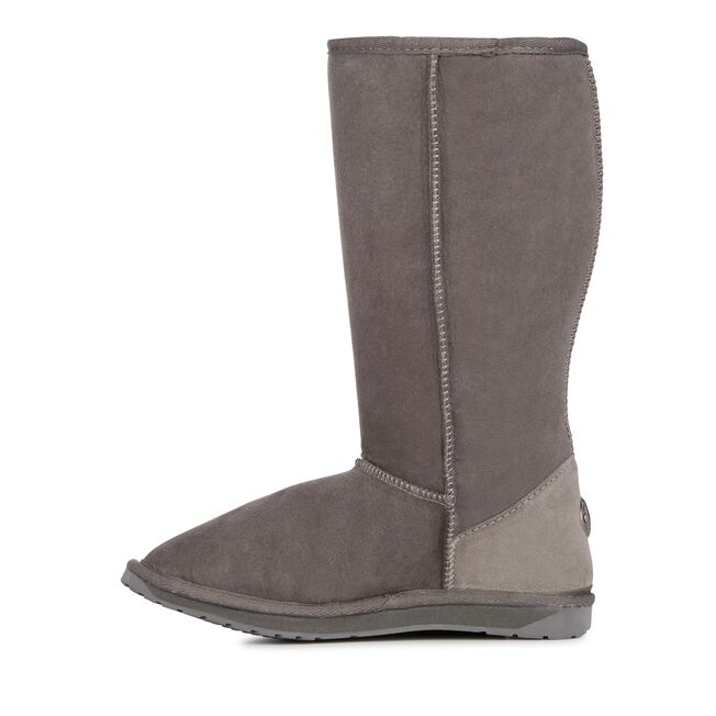 Platinum Stinger Hi 高筒羊毛雪地靴, CHARCOAL, hi-res