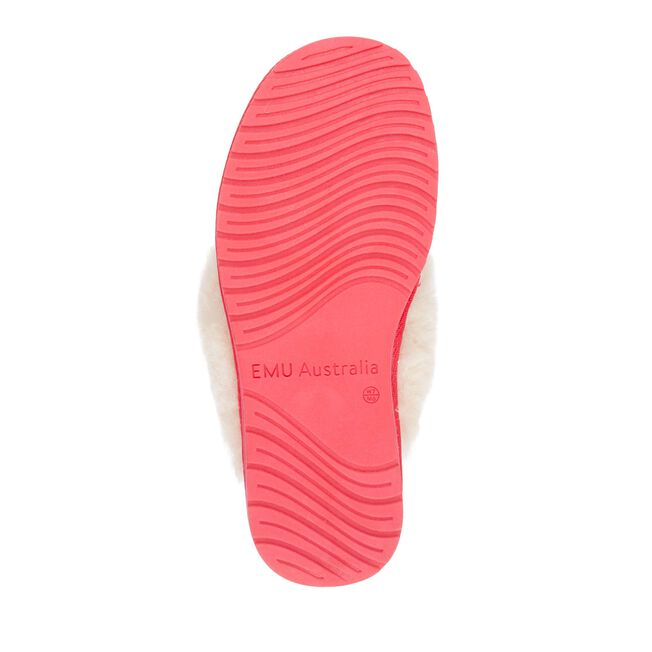 Jolie羊毛拖鞋, FUSCHIA, hi-res