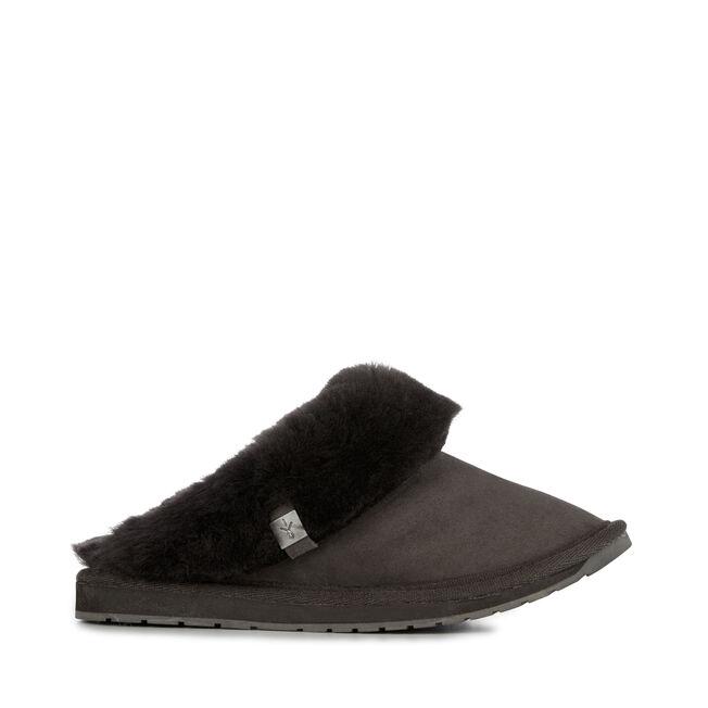 Eden 羊毛拖鞋, BLACK, hi-res