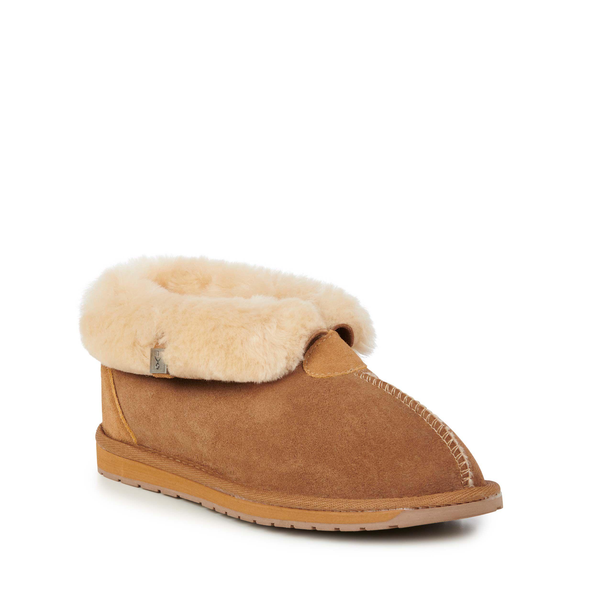 Albany 羊毛翻口便鞋