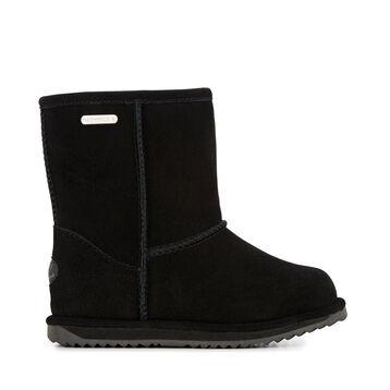 Brumby中筒雪地靴, BLACK, hi-res