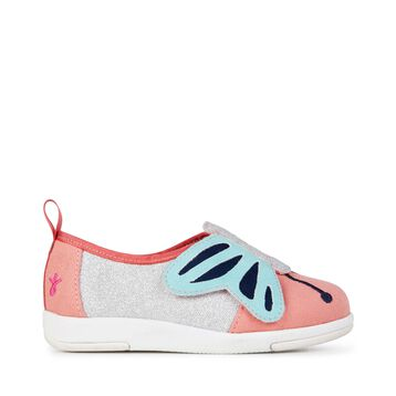 Butterfly Sneaker, Rosa Melone, hi-res