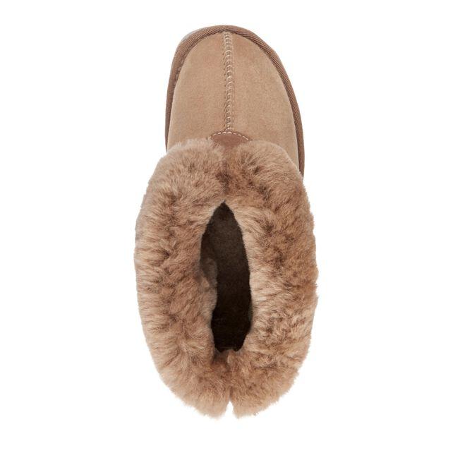 Albany 羊毛翻口便鞋, MUSHROOM, hi-res