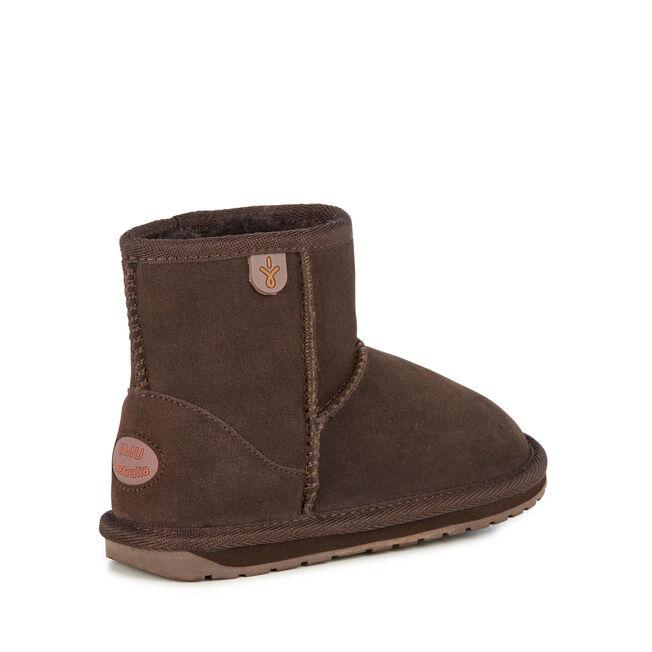Wallaby迷你短筒靴, CHOCOLATE, hi-res