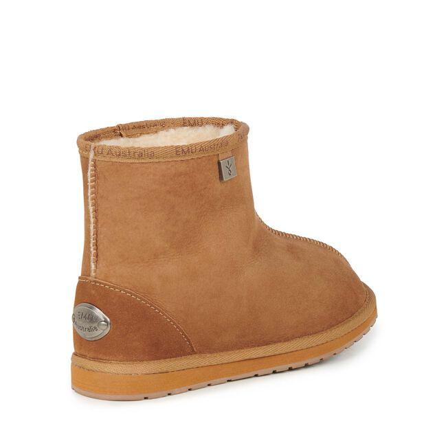 Platinum Darwin短筒羊毛雪地靴, CHESTNUT, hi-res