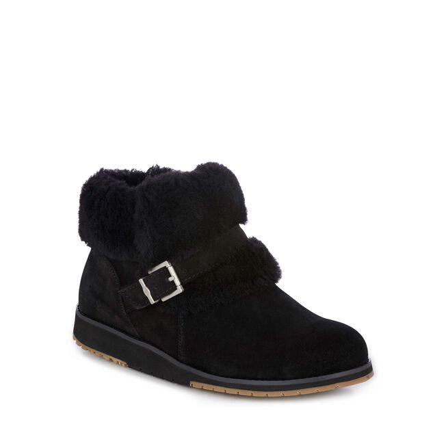 Oxley Fur Cuff, BLACK, hi-res