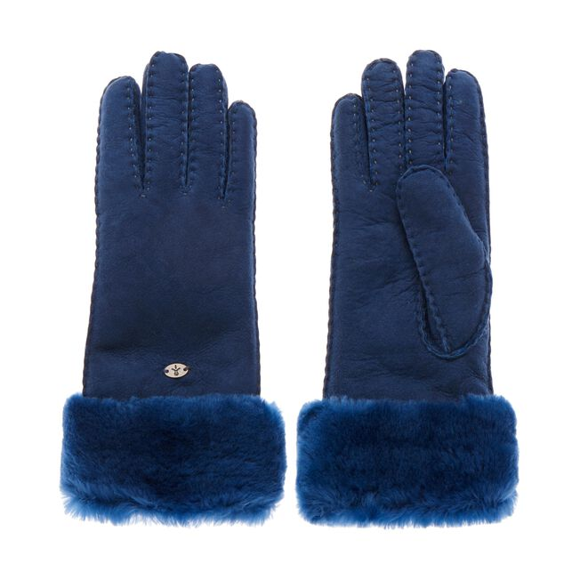 Apollo Bay羊皮手套, MIDNIGHT, hi-res