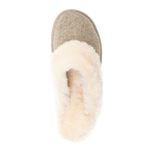 Rosny羊毛拖鞋, SAND MARLE, hi-res