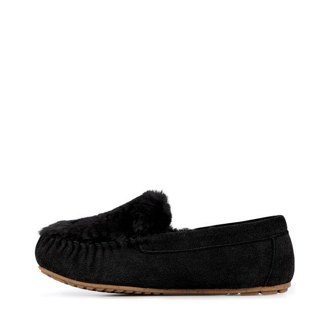 Cairns Reverse Fur, BLACK, hi-res