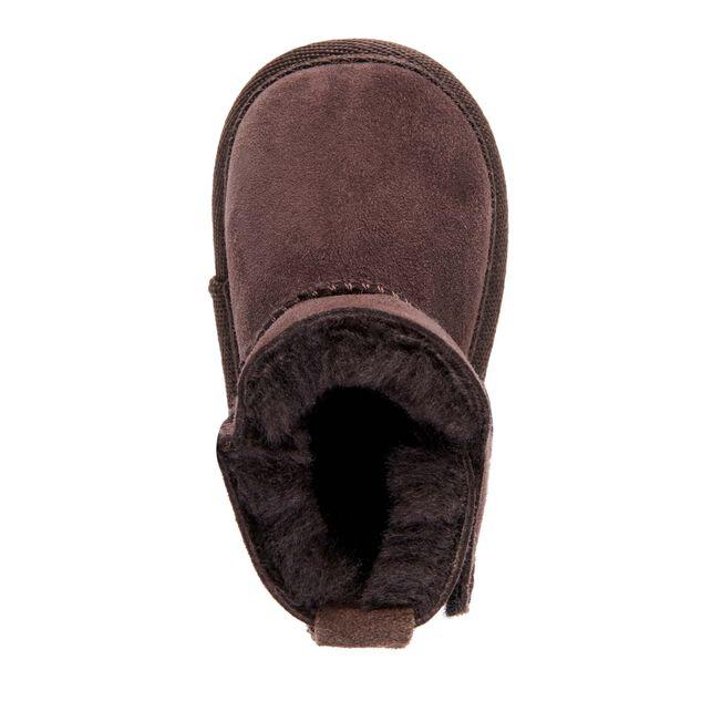Platinum嬰兒鞋, CHOCOLATE, hi-res